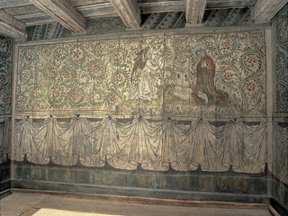 The Kriebstein Room from the 15th century