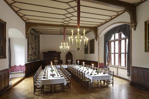 Large Banquet Hall in neo-Gothic style